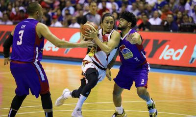 Tiebreaker Times Chris Ross sees no problem with Terrence Romeo's emotions: 'That brings the best out of him' Basketball News PBA  Terrence Romeo San Miguel Beermen PBA Season 44 Chris Ross 2019 PBA Philippine Cup