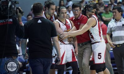 Tiebreaker Times Terrence Romeo blasts lead official after ejection: 'Favorite niya ko e' Basketball News PBA  Terrence Romeo San Miguel Beermen PBA Season 44 Leo Austria 2019 PBA Philippine Cup
