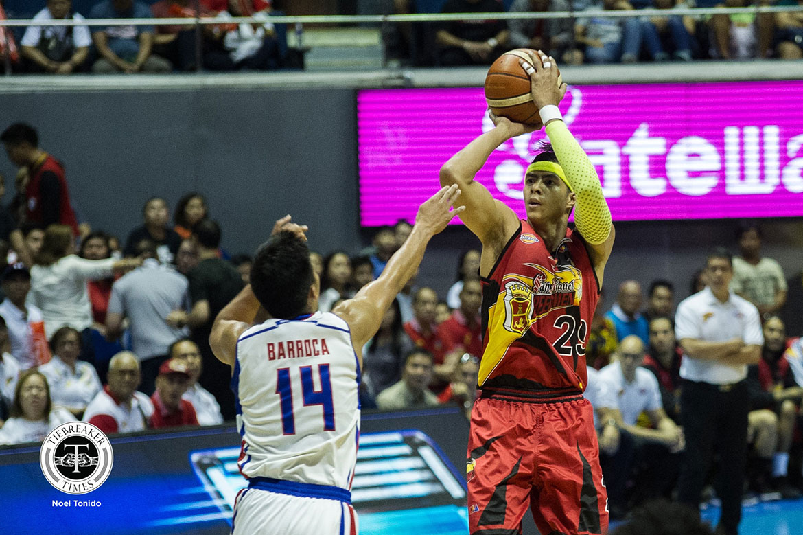 Tiebreaker Times Arwind Santos says that he'd rather lose by 50 than lose in Game Seven Basketball News PBA  San Miguel Beermen PBA Season 44 Arwind Santos 2019 PBA Commissioners Cup