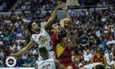 Tiebreaker Times June Mar Fajardo admits struggling against swarming Hotshots Basketball News PBA  San Miguel Beermen PBA Season 44 June Mar Fajardo 2019 PBA Philippine Cup