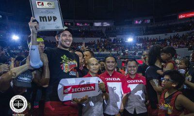 Tiebreaker Times June Mar Fajardo adds another Finals MVP trophy to growing collection Basketball News PBA  PBA Season 44 June Mar Fajardo 2019 PBA Philippine Cup