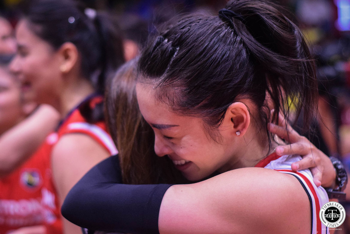Tiebreaker Times Denden Lazaro was not going to let flu keep her from glory News PSL Volleyball  Petron Blaze Spikers Denden Lazaro 2019 PSL Season 2019 PSL Grand Prix