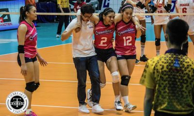 Tiebreaker Times Alyssa Valdez focuses on recovery, hopes to return by next game News PVL Volleyball  Creamline Cool Smashers Alyssa Valdez 2019 PVL Season 2019 PVL Reinforced Conference