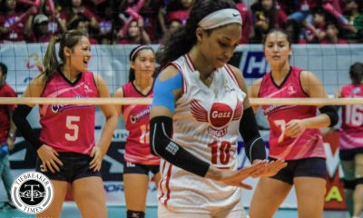 Tiebreaker Times Janisa Johnson, Wilma Salas power Petro Gazz's opening day upset of Creamline News PVL Volleyball  Petro Gazz Angels Creamline Cool Smashers 2019 PVL Season 2019 PVL Reinforced Conference
