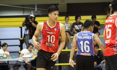 Tiebreaker Times De Guzman, Espejo link up, lift Rebisco past Navy in 5-set thriller News Volleyball  Rebisco-Philippines Razzel Palisoc RanRan Abdilla Philippine Navy Sea Lions Philippine Army Troopers Philippine Air Force Aguilas Milover Parcon Mark Enciso Marck Espejo Kim Malabunga John Vic De Guzman JD Diwa IEM Volley Masters Greg Dolor Easytrip-Raimol Dante Alinsunurin Benjaylo Labide 2019 Spikers Turf Season 2019 Spikers Turf Reinforced Conference