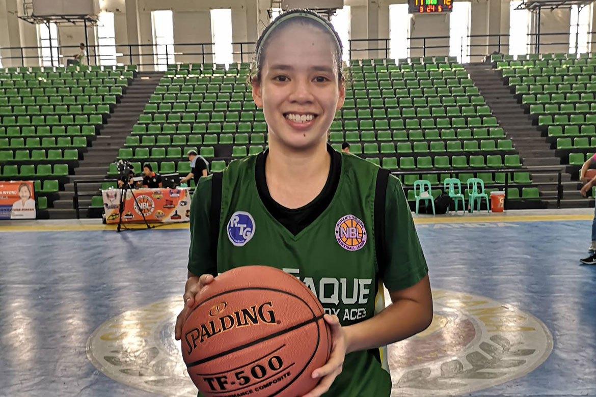 Tiebreaker Times Khate Castillo shows all-around game as Parañaque escapes Pampanga Basketball NBL News  Paranaque Lady Aces Pampanga Delta Amazons Nixie Jimenez Mina Reyes Khate Castillo Camille Claro 2019 NBL Season