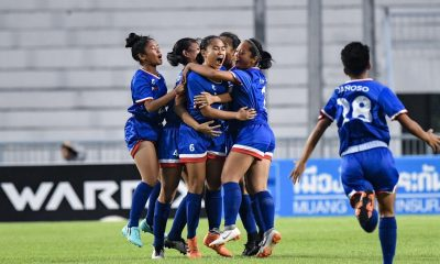 Tiebreaker Times Philippine Girls U15 put up stunning performance in return to AFF semis Football News Philippine Malditas  Rae Tolentino Rachelle Delos Reyes Philippine Girls U15 Football Team Maegan Alforque Lanie Ortillo Jonalyn Lucban Chenny Danoso Bianca Sy Beatrice Luna 2019 AFF U-15 Girls Championship
