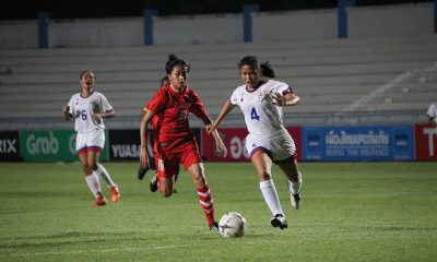 Tiebreaker Times Laos yanks Philippines U15 to AFF Girls Championship bronze medal match Football News Philippine Malditas  Rachelle Delos Reyes Philippine Girls U15 Football Team Laos (Football) Angely Alferez 2019 AFF U-15 Girls Championship