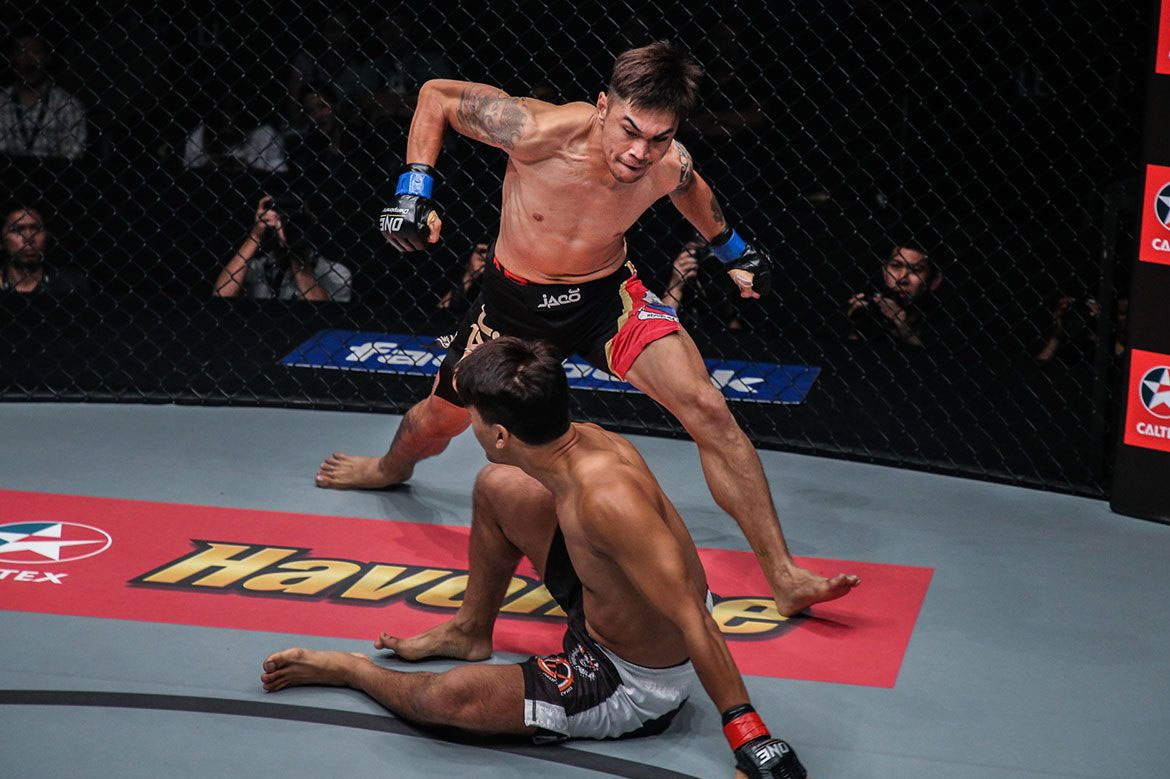Tiebreaker Times Richard Corminal continues to make ultimate sacrifice for daughter Mixed Martial Arts News ONE Championship  Richard Corminal ONE: Enter the Dragon