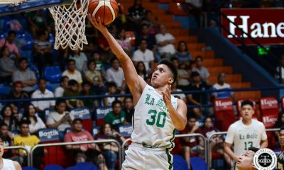 Tiebreaker Times Andrei Caracut leads new-look La Salle to rout of UST Basketball DLSU News UP  UST Men's Basketball Soulemane Chabi Yo Justine Baltazar Gian Nazario DLSU Men's Basketball Dave Ando Andrei Caracut Aldin Ayo 2019 Filoil Flying V Preseason Cup