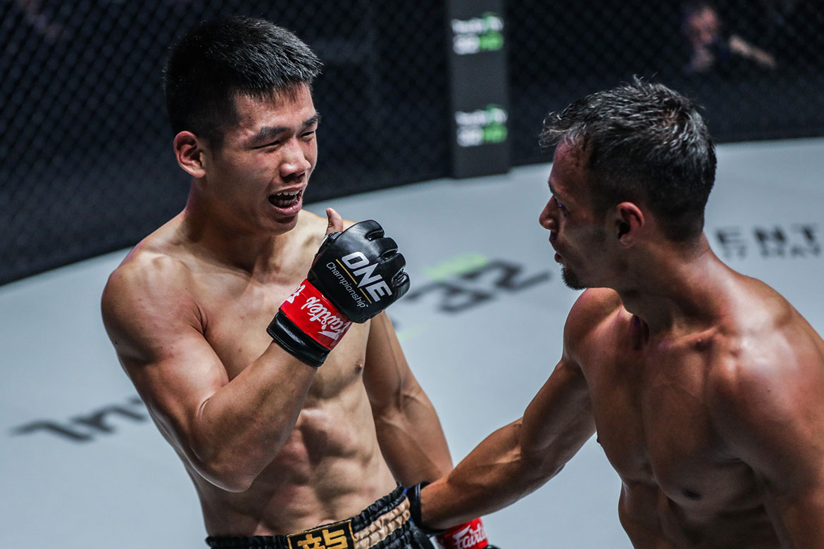Tiebreaker Times Robin Catalan, Fil-fors Abelardo and Yusuf handed setbacks in ONE: Warriors of Light Kickboxing Mixed Martial Arts News ONE Championship  Robin Catalan Panicos Yusuf ONE: Warriors of Light Mark Abelardo