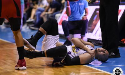 Tiebreaker Times Paul Lee says he's okay following injury scare in Game 5 Basketball News PBA  PBA Season 44 Paul Lee Magnolia Hotshots 2019 PBA Philippine Cup