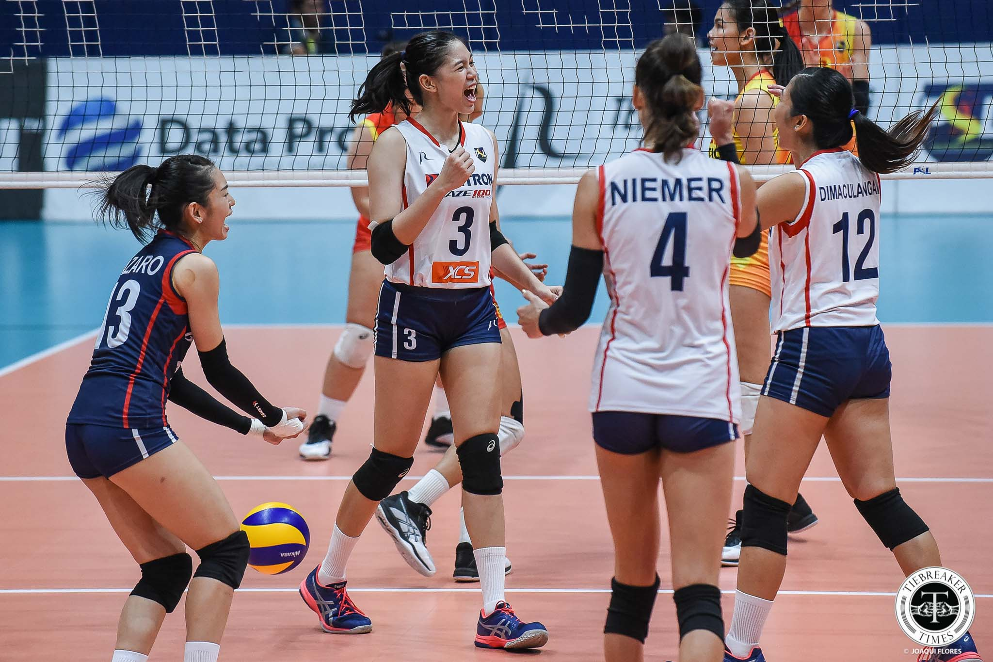 Tiebreaker Times Petron played lighter after letting out frustrations from Game 1 loss News PSL Volleyball  Shaq delos Santos F2 Logistics Cargo Movers 2019 PSL Season 2019 PSL Grand Prix