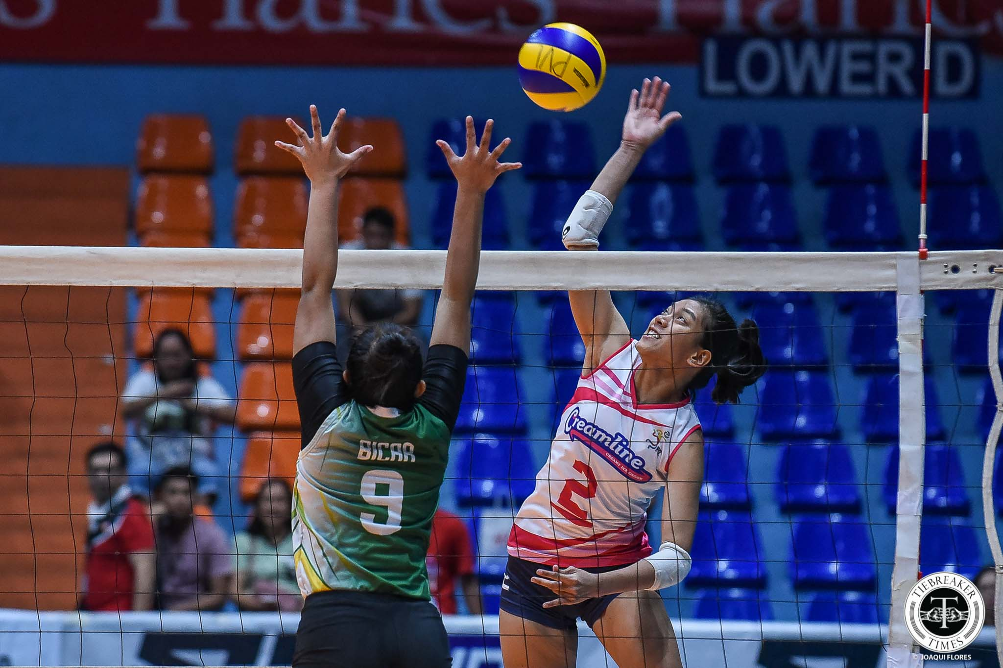 Tiebreaker Times Alyssa Valdez returns as Creamline vents ire on Pacific Town-Army News PVL Volleyball  Pacific Town-Army Lady Troopers Michele Gumabao Kyla Atienza Kungfu Reyes Jia Morado Jenelle Jordan Ed Ortega Creamline Cool Smashers Alyssa Valdez Aleoscar Blanco 2019 PVL Season 2019 PVL Reinforced Conference