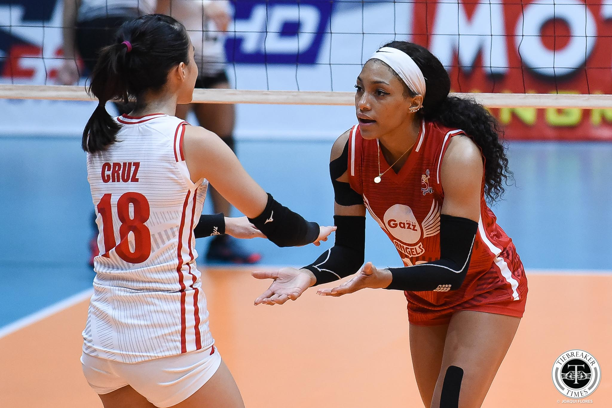 Tiebreaker Times Petro Gazz staves off PacificTown–Army to complete first round sweep News PVL Volleyball  Wilma Salas Petro Gazz Angels Pacific Town-Army Lady Troopers Olena Lymareva-Flink Kungfu Reyes Jenelle Jordan Jeanette Panaga Janisa Johnson Djanel Cheng Arnold Laniog 2019 PVL Season 2019 PVL Reinforced Conference