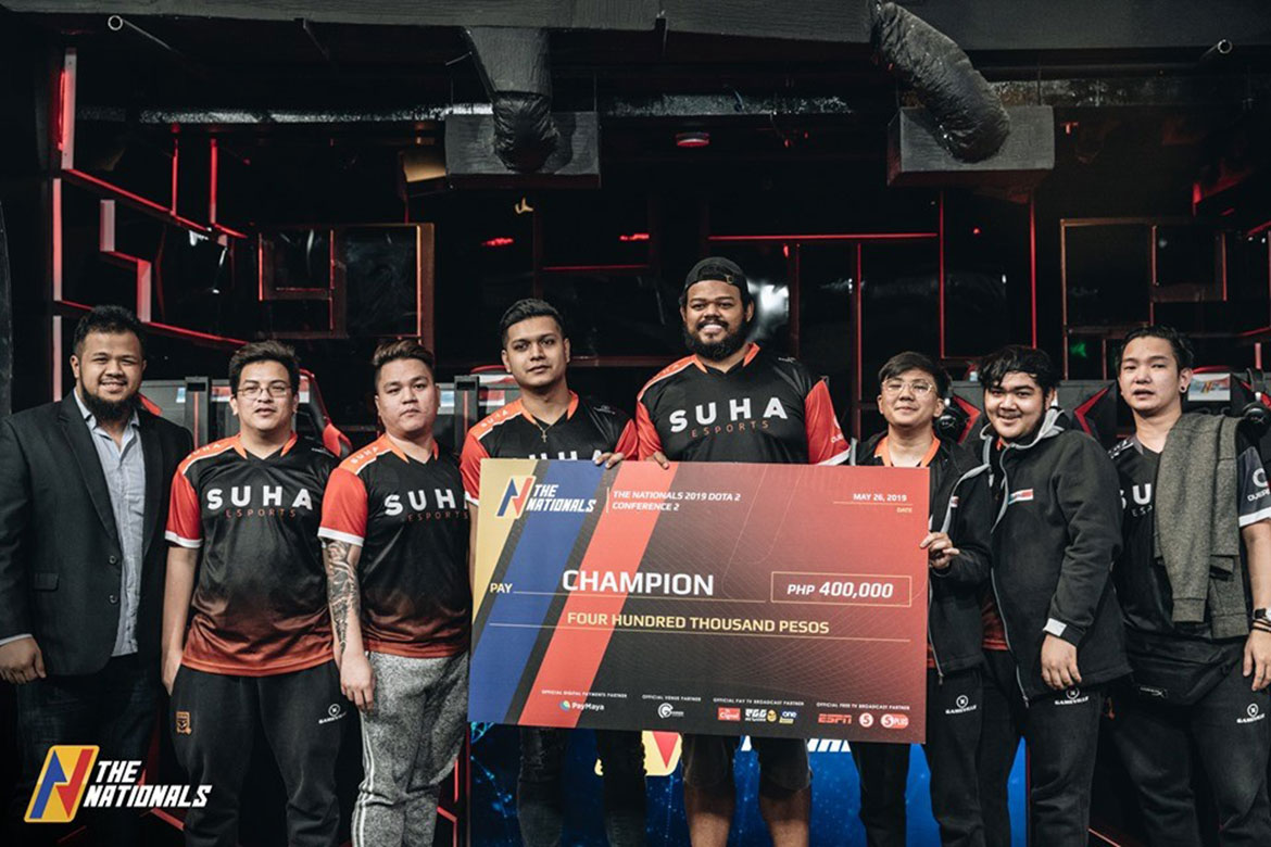 Tiebreaker Times Suha-Execration Punishers dominates Cignal in The Nationals DOTA 2 Grand Finals DOTA 2 ESports News  The Nationals 2019 DOTA 2 Conference Suha-Execration Punishers Marvin