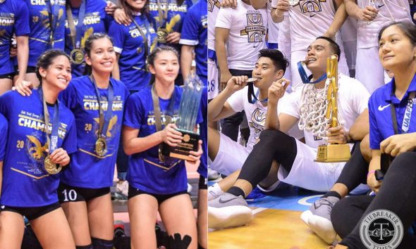 Tiebreaker Times Tolentino siblings made sure to bring glory to Ateneo in final years ADMU Basketball News UAAP Volleyball  Vince Tolentino UAAP Season 81 Women's Volleyball UAAP Season 81 UAAP Season 80 Men's Basketball UAAP Season 80 Kat Tolentino Ateneo Women's Volleyball Ateneo Men's Basketball
