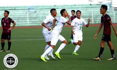 Tiebreaker Times Rookie Shanden Vergara brings La Salle back to Finals, dethrones UP DLSU Football News UAAP UP  UP Men's Football UAAP Season 81 Men's Football UAAP Season 81 Shanden Vergara Mohammad Almohjili Kintaro Miyagi Jovan Marfiga Jed Diamante Franz Brosoto DLSU Men's Football Anton Yared Anto Gonzales Alvin Ocampo