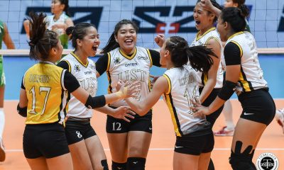 Tiebreaker Times Eya Laure willing to do 'whatever it takes' in first Final Four appearance News UAAP UST Volleyball  UST Women's Volleyball UAAP Season 81 Women's Volleyball UAAP Season 81 Cherry Rondina