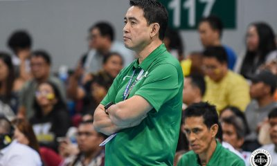 Tiebreaker Times Ramil De Jesus optimistic as decade of dominance ends DLSU News UAAP Volleyball  UAAP Season 81 Women's Volleyball UAAP Season 81 Ramil De Jesus DLSU Women's Volleyball