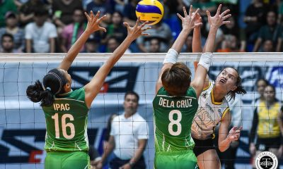 Tiebreaker Times Sisi Rondina played without pressure in the biggest game of her career News UAAP UST Volleyball  UST Women's Volleyball UAAP Season 81 Women's Volleyball UAAP Season 81 Cherry Rondina