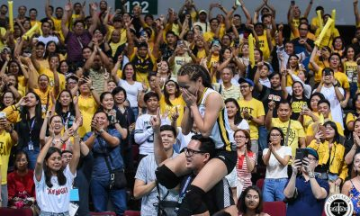 Tiebreaker Times UST community flock to fly Rondina's family out to Manila for Game 2 News UAAP UST Volleyball  UST Women's Volleyball UAAP Season 81 Women's Volleyball UAAP Season 81 Cherry Rondina