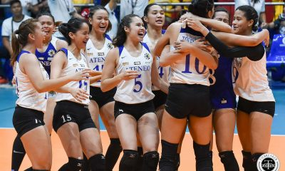 Tiebreaker Times Ateneo Lady Eagles return to Finals, send FEU packing ADMU FEU News UAAP Volleyball  UAAP Season 81 Women's Volleyball UAAP Season 81 Oliver Almadro Maddie Madayag Kat Tolentino Jerrili Malabanan Heather Guino-o George Pascua FEU Women's Volleyball Deanna Wong Dani Ravena Ateneo Women's Volleyball