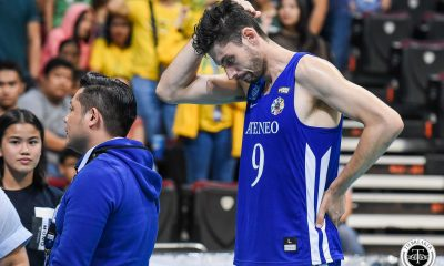 Tiebreaker Times Tony Koyfman has no regrets giving Ateneo one last fight ADMU News UAAP Volleyball  UAAP Season 81 Men's Volleyball UAAP Season 81 Tony Koyfman Ateneo Men's Volleyball