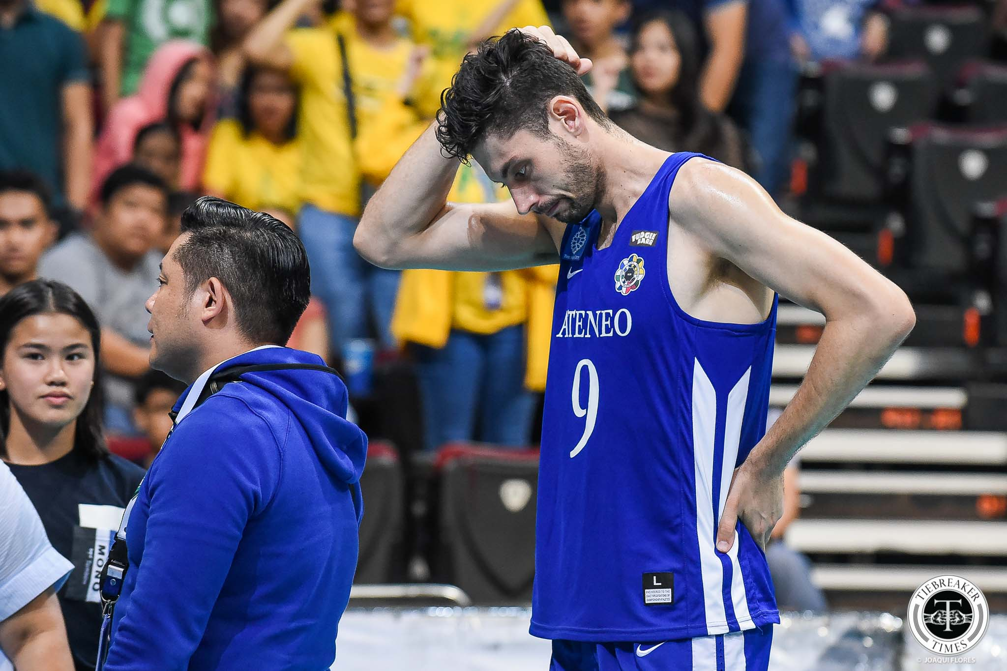 the best attitude d2cf5 ee628 Tony Koyfman has no regrets giving Ateneo one last fight ...
