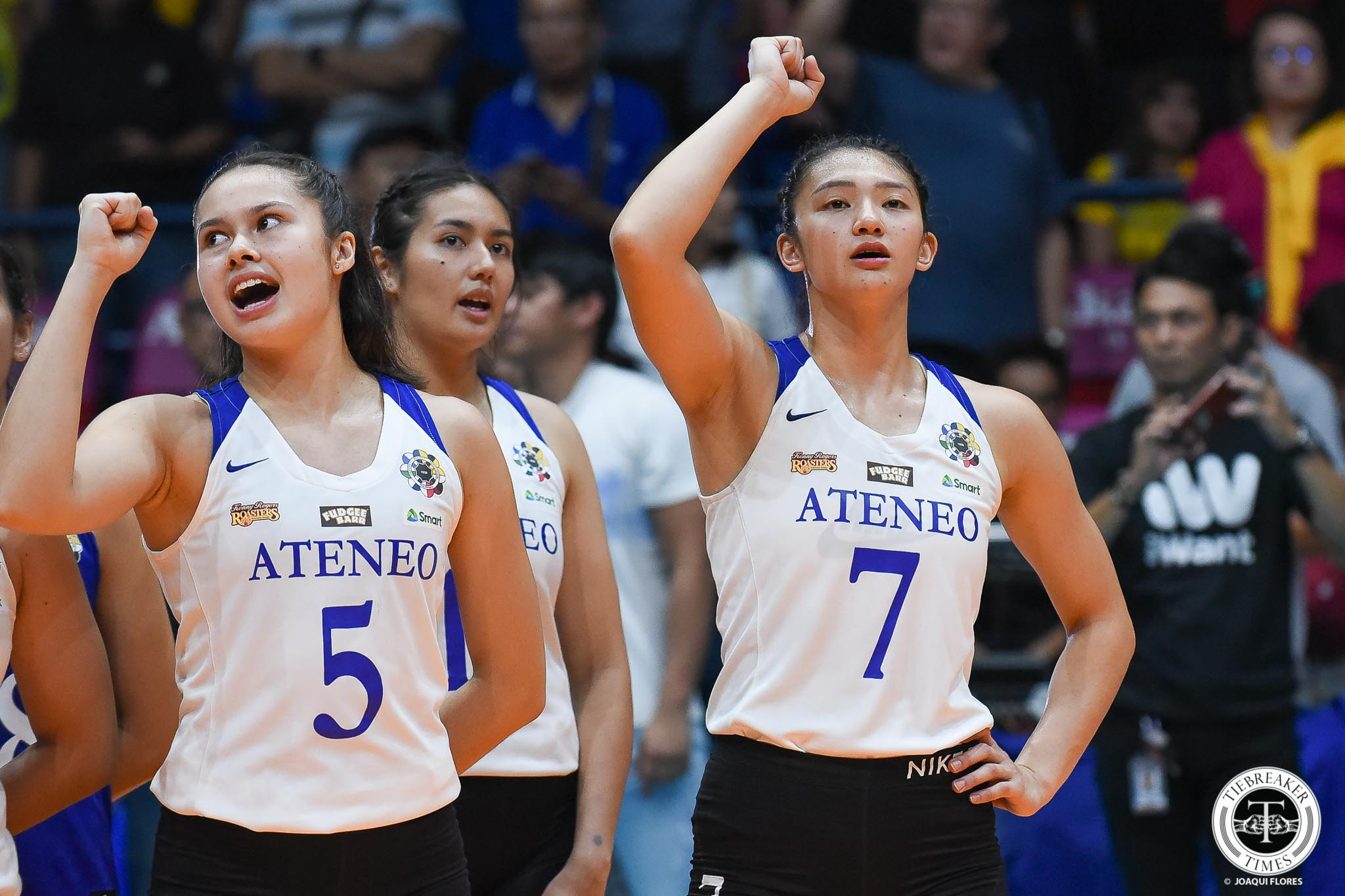 Tiebreaker Times Bea De Leon, Maddie Madayag refused to think they were playing final game ADMU News UAAP Volleyball  UAAP Season 81 Women's Volleyball UAAP Season 81 Maddie Madayag Bea De Leon Ateneo Women's Volleyball
