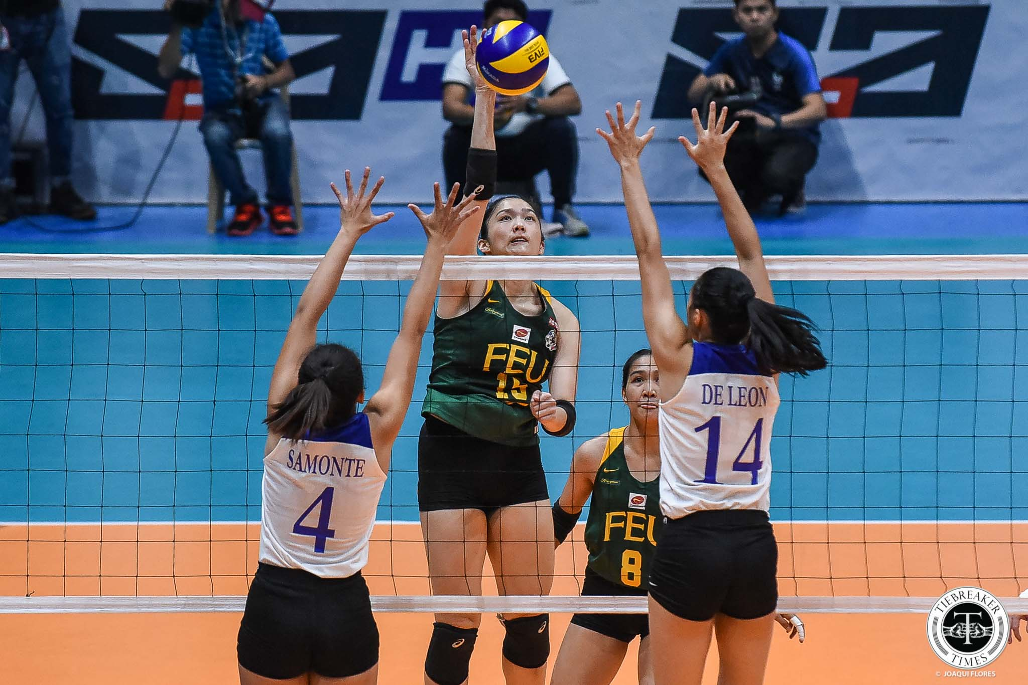 Tiebreaker Times Jerrili Malabanan glad to have finished career proving doubters wrong FEU News UAAP Volleyball  UAAP Season 81 Women's Volleyball UAAP Season 81 Jerrili Malabanan FEU Women's Volleyball