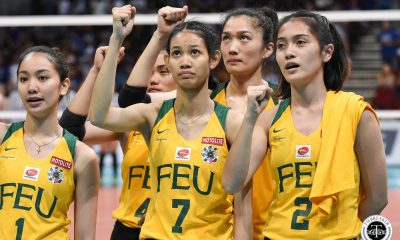 Tiebreaker Times Elize Ronquillo transfers to NU FEU News NU UAAP Volleyball  UAAP Season 82 Women's Volleyball UAAP Season 82 NU Women's Volleyball FEU Women's Volleyball Elize Ronquillo