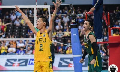 Tiebreaker Times Bugaoan, Solis hungry to add to FEU's championship tradition FEU News UAAP Volleyball  UAAP Season 81 Men's Volleyball UAAP Season 81 Richard Solis Rey Diaz JP Bugaoan FEU Men's Volleyball