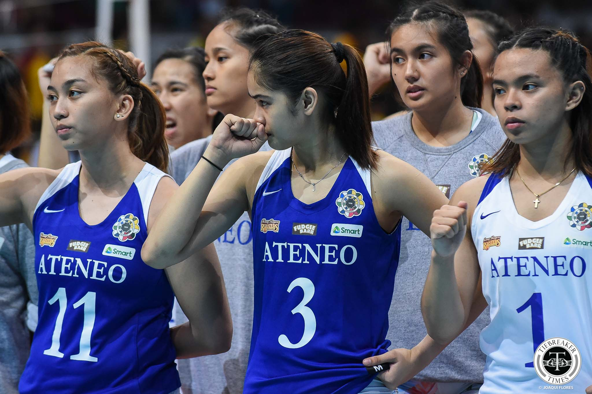 Tiebreaker Times Ateneo Lady Eagles focused on recovering for win-or-go-home game News Volleyball  UAAP Season 81 Women's Volleyball UAAP Season 81 Oliver Almadro Ateneo Women's Volleyball