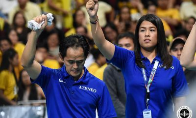 Tiebreaker Times Oliver Almadro lauds Ateneo Lady Eagles for keeping the faith ADMU News UAAP Volleyball  UAAP Season 81 Women's Volleyball UAAP Season 81 Oliver Almadro Ateneo Women's Volleyball
