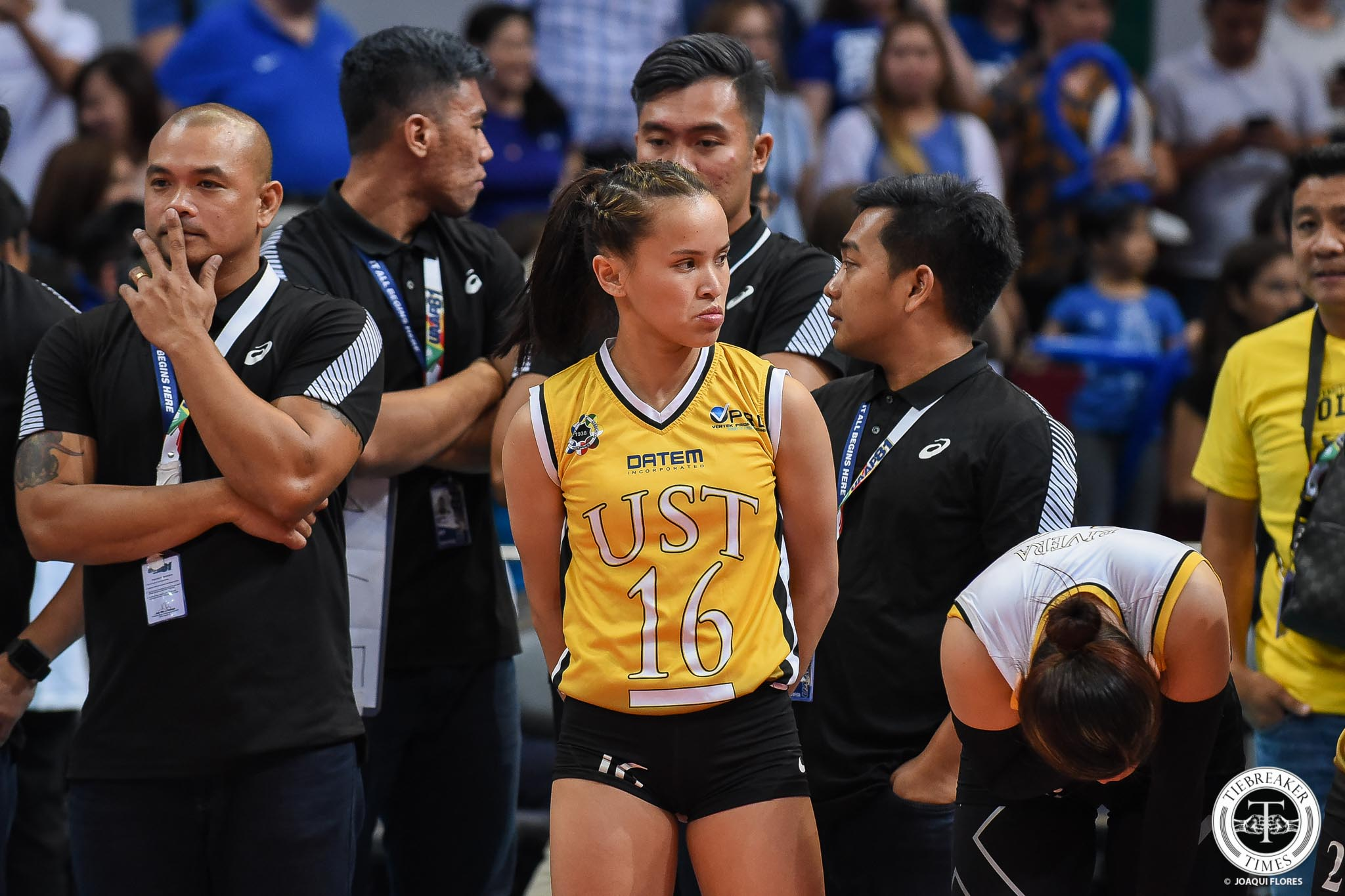 Tiebreaker Times Sisi Rondina vows to keep fighting until final point Basketball News UAAP UST Volleyball  UST Women's Volleyball UAAP Season 81 Women's Volleyball UAAP Season 81 Cherry Rondina