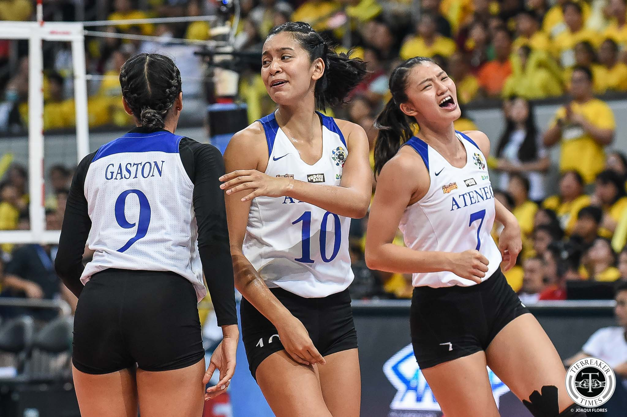 Tiebreaker Times Dani Ravena did not want to let her seniors down ADMU News UAAP Volleyball  UAAP Season 81 Women's Volleyball UAAP Season 81 Dani Ravena Ateneo Women's Volleyball