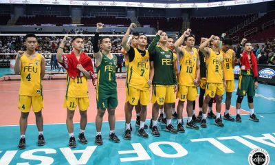 Tiebreaker Times FEU captain Richard Solis makes bold Season 82 prediction: 'Amin na 'yan' FEU News UAAP Volleyball  UAAP Season 81 Men's Volleyball UAAP Season 81 Richard Solis FEU Men's Volleyball