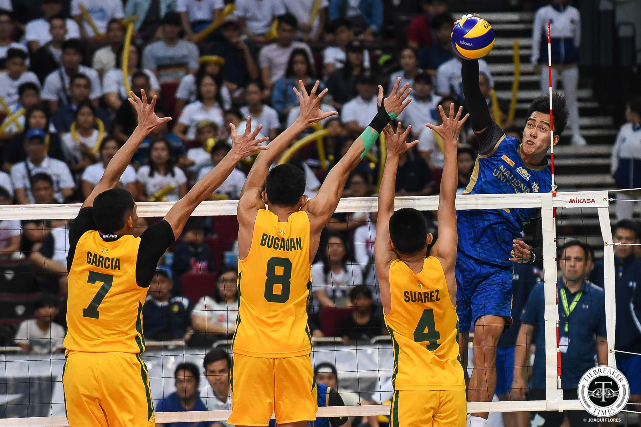 Tiebreaker Times After glittering UAAP exit, Bryan Bagunas to try his luck in Japan News NU UAAP Volleyball  UAAP Season 81 Men's Volleyball UAAP Season 81 NU Men's Volleyball Bryan Bagunas