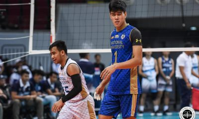 Tiebreaker Times Bryan Bagunas, NU look to close era with back-to-back titles News NU UAAP Volleyball  UAAP Season 81 Men's Volleyball UAAP Season 81 NU Men's Volleyball Dante Alinsunurin Bryan Bagunas