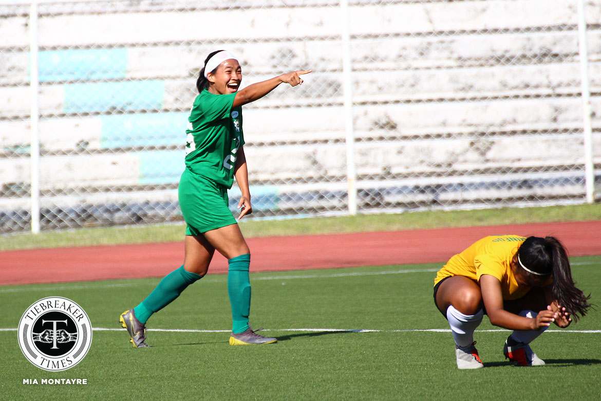 Tiebreaker Times Rookie sensation Shai Del Campo looks to extend La Salle's dynasty DLSU Football News UAAP  UAAP Season 81 Women's Football UAAP Season 81 Shai del Campo DLSU Women's Football