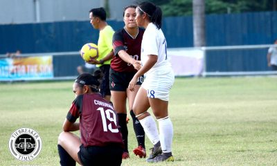 Tiebreaker Times Martina Roxas, Andrea Montilla score as Ateneo, UP, end season with scored draw ADMU Football News UAAP UP  UP Women's Football UAAP Season 81 Women's Football UAAP Season 81 Sofia Dungca Pam Diaz Nicole Adlawan Mary Rose Obra Martina Roxas Marianne Caparros Jay Pee Merida Ateneo Women's Football Anto Gonzales Andrea Montilla