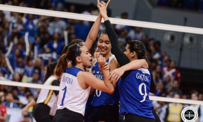 Tiebreaker Times Kat Tolentino leaves Ateneo at peace ADMU News UAAP Volleyball  UAAP Season 81 Women's Volleyball UAAP Season 81 Kat Tolentino Ateneo Women's Volleyball