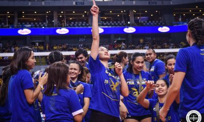 Tiebreaker Times From bench player to dominant middle, Maddie Madayag grateful for colorful Ateneo journey ADMU News UAAP Volleyball  UAAP Season 81 Women's Badminton UAAP Season 81 Maddie Madayag Ateneo Women's Volleyball
