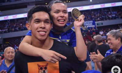 Tiebreaker Times Winning championships for Ateneo has become Ravena family business ADMU News UAAP Volleyball  UAAP Season 81 Women's Volleyball UAAP Season 81 Thirdy Ravena Kiefer Ravena Dani Ravena Ateneo Women's Volleyball