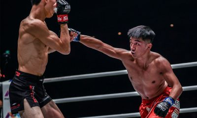 Tiebreaker Times Geje Eustaquio survives slugfest in Singapore, enters Grand Prix as alternate Mixed Martial Arts News ONE Championship  Richard Corminal Rahul Raju ONE: Enter the Dragon Kim Kyu Sung