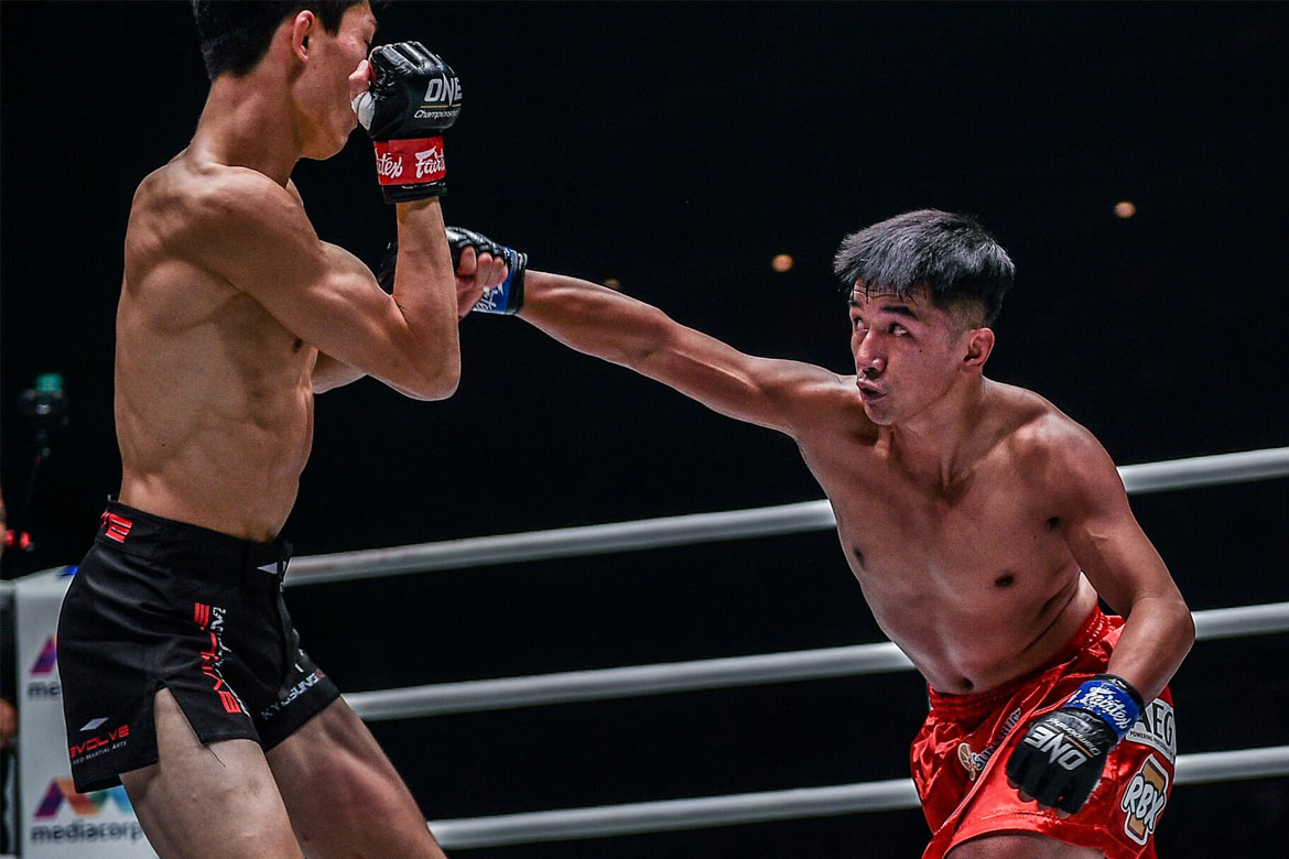 Tiebreaker Times Mark Sangiao lauds Kim's grit amid Geje Eustaquio's pressure Mixed Martial Arts News ONE Championship  Team Lakay ONE: Enter the Dragon Mark Sangiao