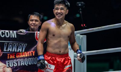 Tiebreaker Times Geje Eustaquio banking on experience as he preps for Wakamatsu Mixed Martial Arts News ONE Championship  Team Lakay ONE: Dawn of Heroes Geje Eustaquio