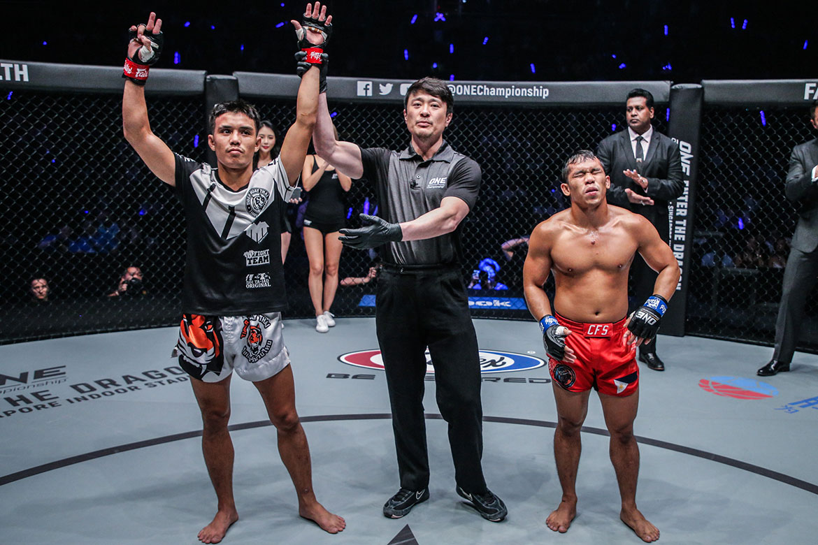 Tiebreaker Times Robin Catalan back to square one after TKO loss In Bangkok Mixed Martial Arts News ONE Championship  Robin Catalan ONE: Warriors of Light Catalan Fighting System