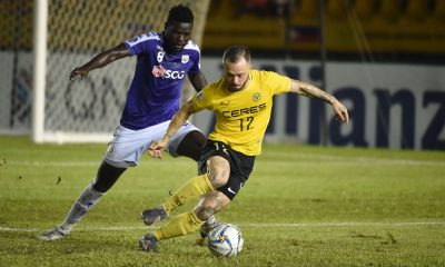 Tiebreaker Times Ceres-Negros held to pulsating stalemate by Hanoi in Panaad Uncategorized  Stephan Schrock Roland Muller Risto Vidakovic Omar Faye Mike Ott Hoang Vu Samson Hanoi FC Ceres-Negros FC Bienvenido Marañon 2019 AFC Cup